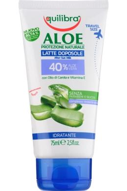 EQUILIBRA Aloe Napozás utáni testápoló 75ml