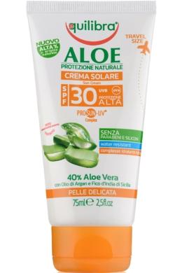 EQUILIBRA Aloe Napvédő krém FF30 75ml