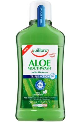 EQUILIBRA Aloe Hármas hatású szájvíz 500ml