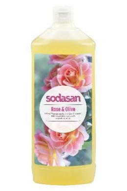 SODASAN Öko folyékony szappan - Rózsa-olíva 1 l