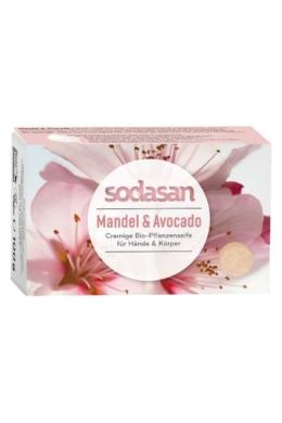 SODASAN Öko szappan - Mandula-avokádó 100 g