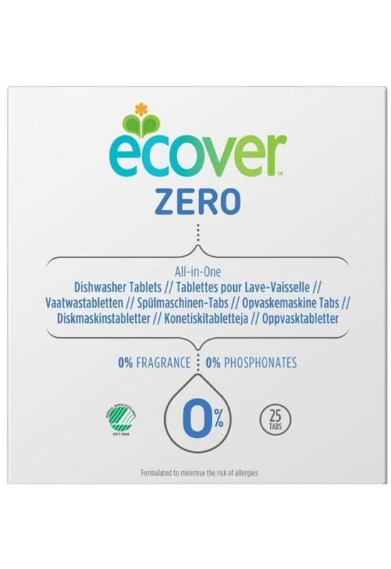 Ecover ZERO öko All in One mosogatógép tabletta 25 db