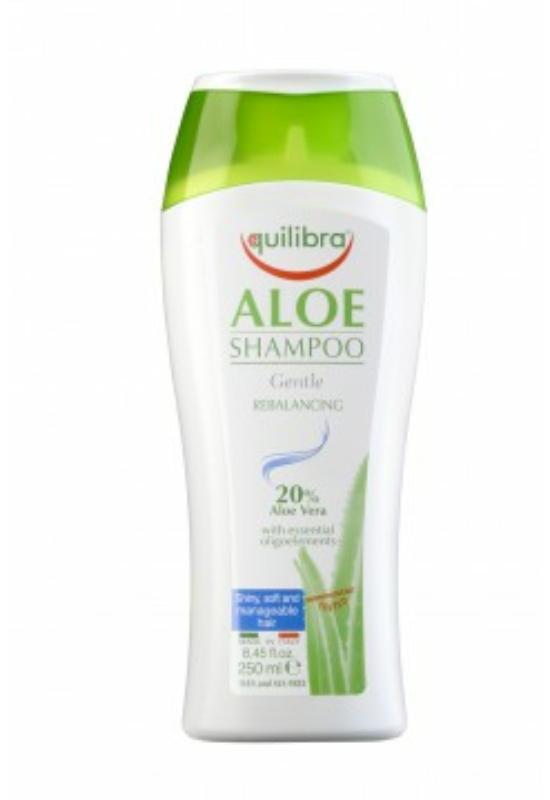 EQUILIBRA Sampon Aloe Verával (20%) 250ml