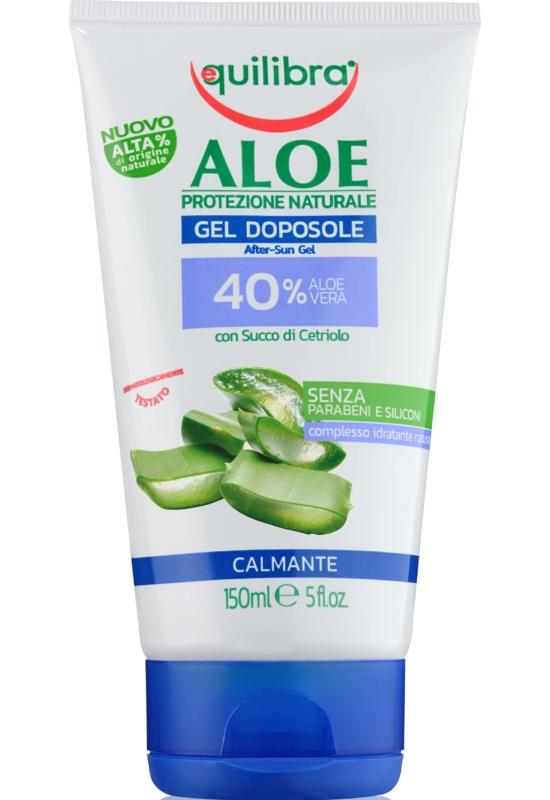EQUILIBRA Aloe Napozás utáni bőrnyugtató gél 150ml