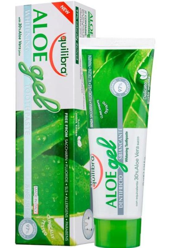EQUILIBRA Aloe fehérítő fogkrém 75 ml