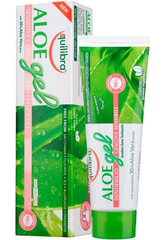 EQUILIBRA Aloe Fogkrém érzékeny ínyre 75 ml