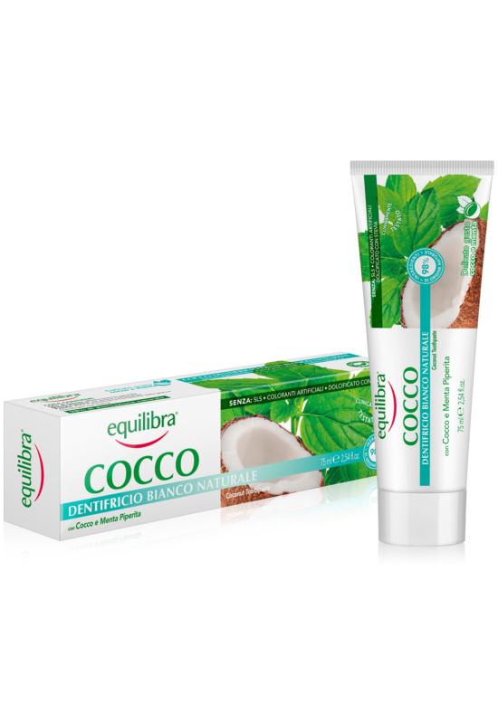 EQUILIBRA Kókusz fogkrém 75ml