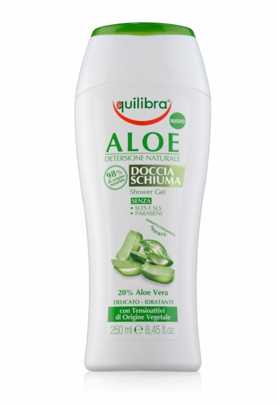 EQUILIBRA Krémtusfürdő Aloe Verával (20%) 250ml