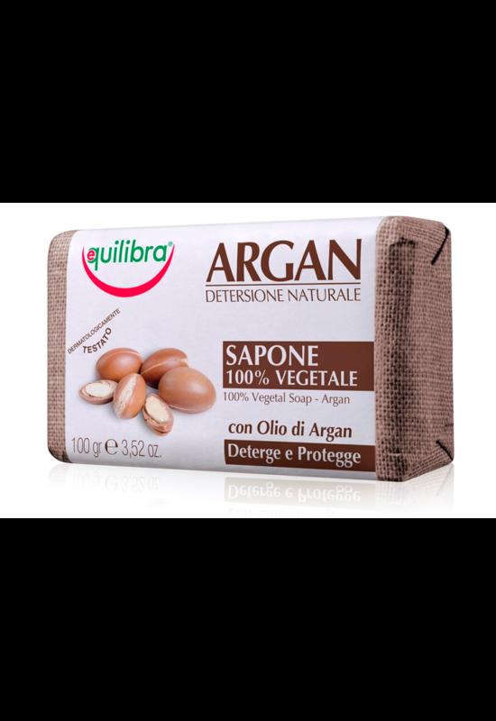 EQUILIBRA természetes szilárd szappan argánolajjal 100g
