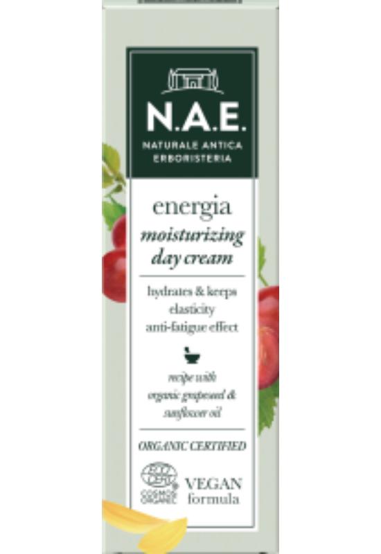 N.A.E. bio hidratáló nappali arckrém ENERGIA 50ml