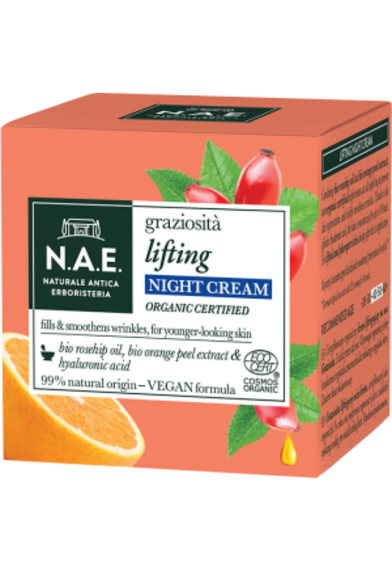N.A.E. bio ráncfeltöltő éjszakai arckrém GRAZIOSITA