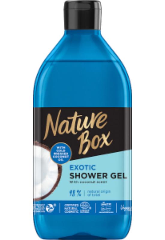 Nature Box tusfürdő  Kókusz az ápolt bőrért 385 ml