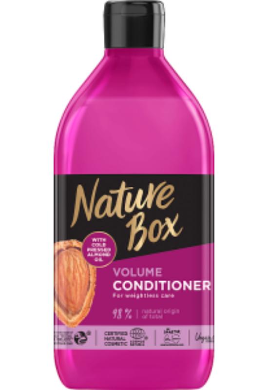 Nature Box balzsam Mandula a gyönyörű hullámokért 385 ml