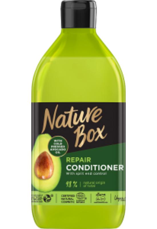 Nature Box balzsam Avokádó a regenerált hajért 385 ml