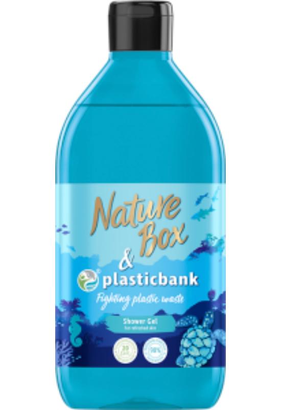 Nature Box tusfürdő Plasticbank 385 ml
