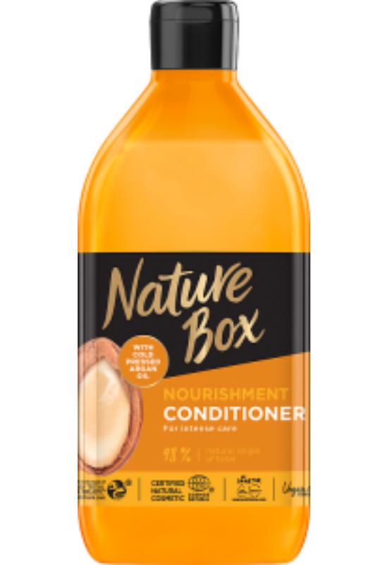 Nature Box balzsam Argán olajjal a puha hajért 385ml