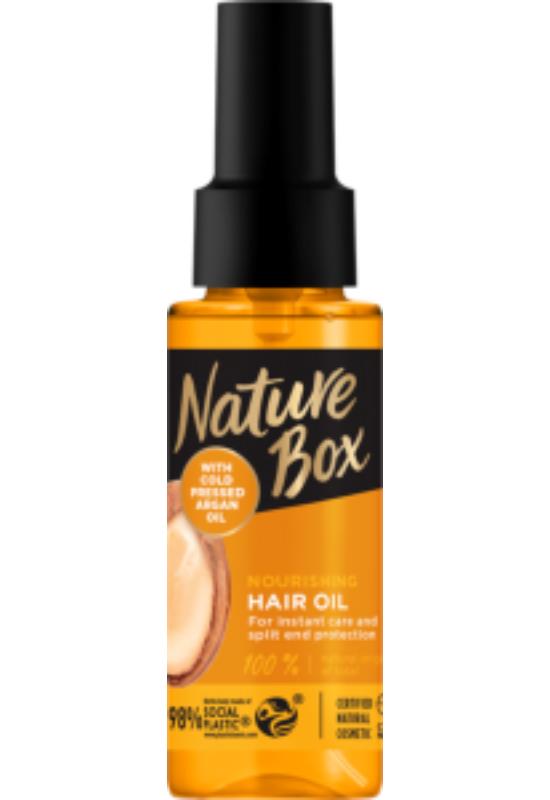 Nature Box hajolaj Argán olajjal a puha hajért