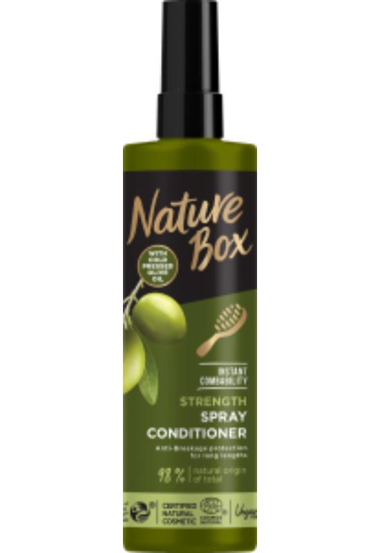 Nature Box hajregeneráló balzsam Express Repair Olíva hosszú hajra 200 ml