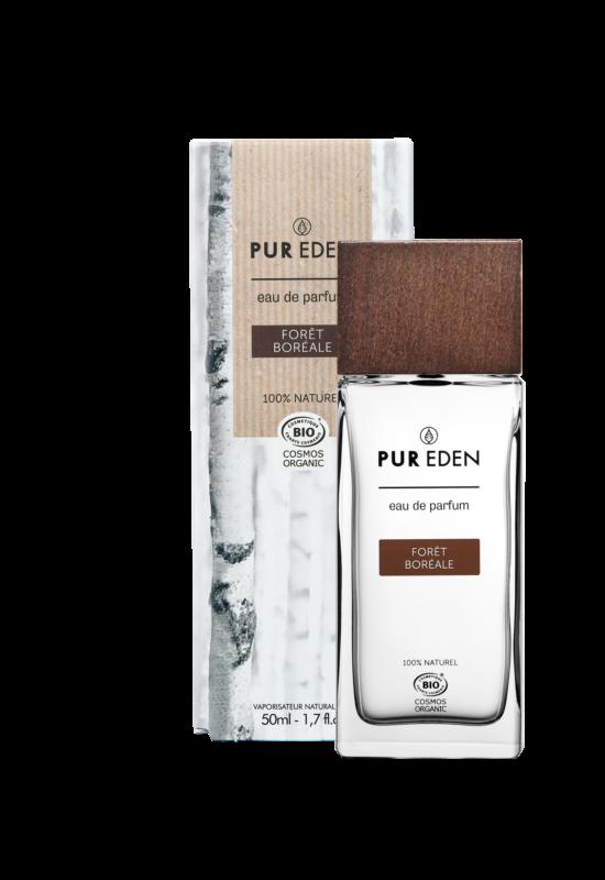 Pur Eden parfüm - fás illat fűszeres jegyekkel férfiaknak