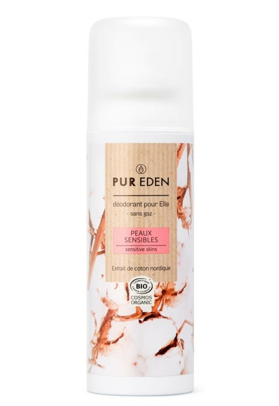 Pur Eden deo spray 100ml - érzékeny bőrre nőknek