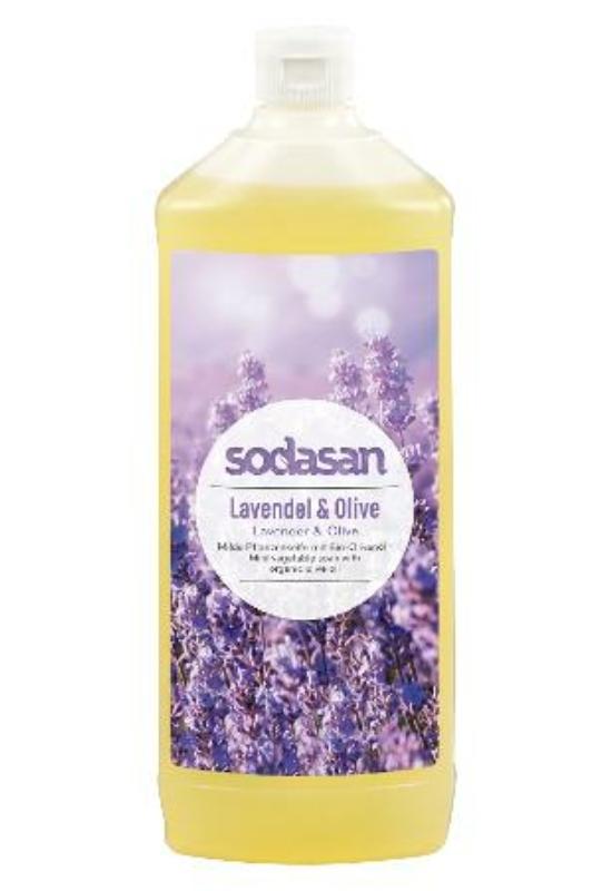 SODASAN Öko folyékony szappan - Levendula-olíva 1 l